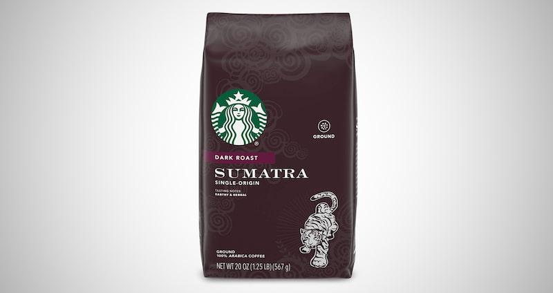 Starbucks Sumatra Dark Roast Ground Coffee