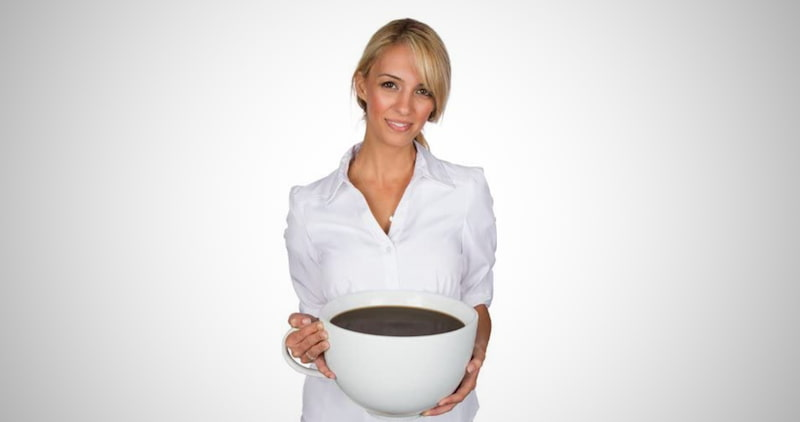 World's Largest Gigantic Coffee Mug