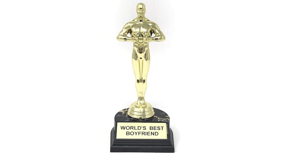 World's Best Boyfriend Trophy