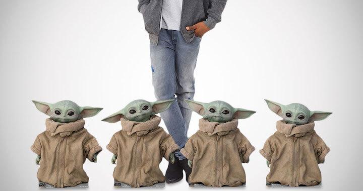 Baby Yoda Life-Size Cardboard Cutouts