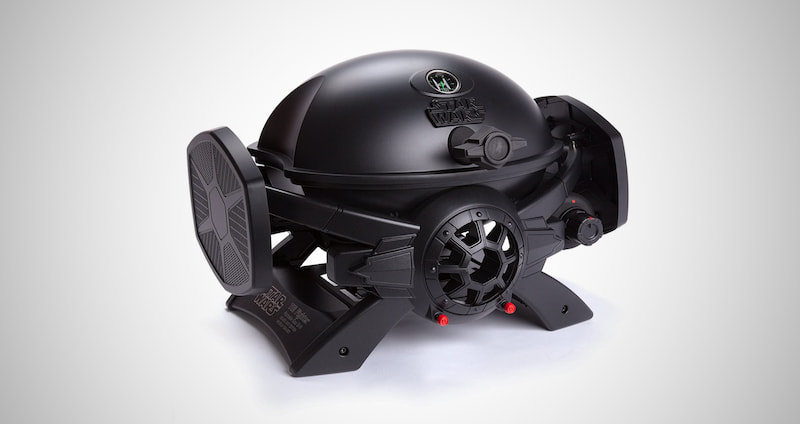 TIE Fighter Gas Grill