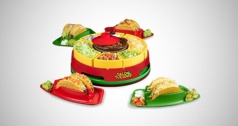 Nostalgia Taco Holders