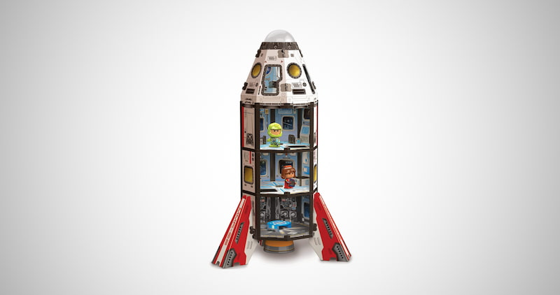Mars Space Rocket Toy