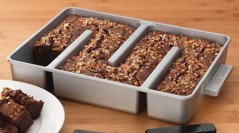 Nonstick Edge Brownie Pan