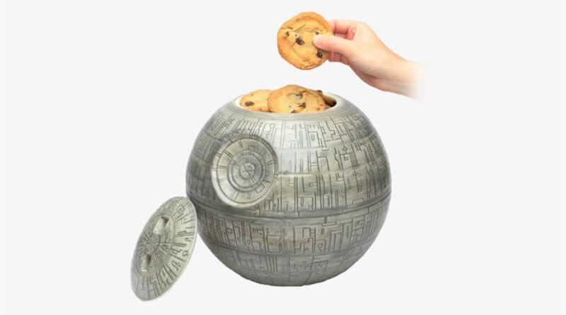 Death Star Ceramic Cookie Jar