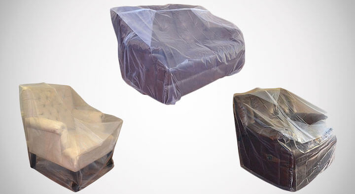 Furniture Cover Plastic Bag