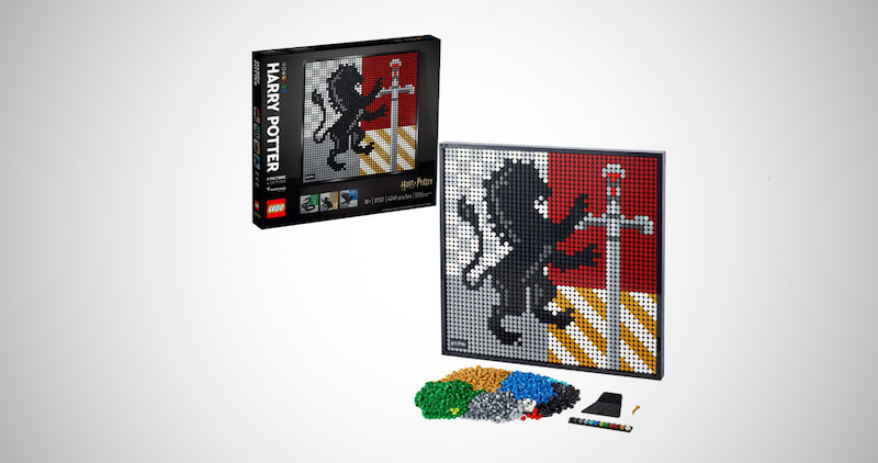 Harry Potter Hogwarts Crests Building Kit