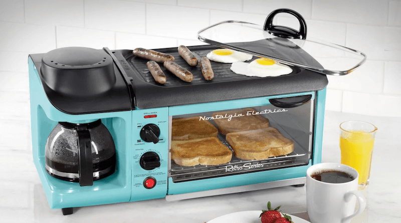 Retro 3-in-1 Family Size Electric Toaster Oven