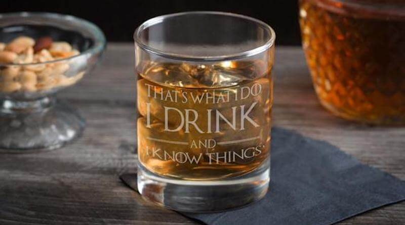 Game of Thrones Whiskey Glass