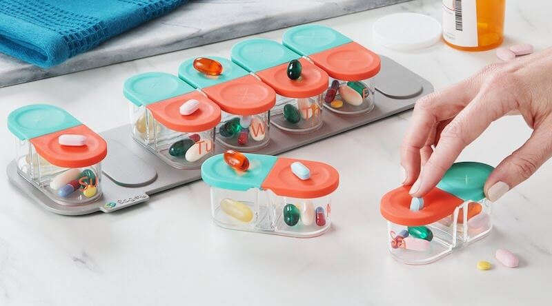 Smart Weekly Pill Organizer