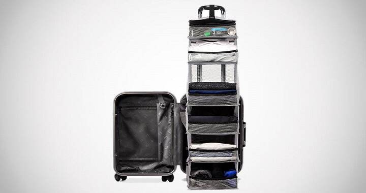 The Carry-On Closet Suitcase
