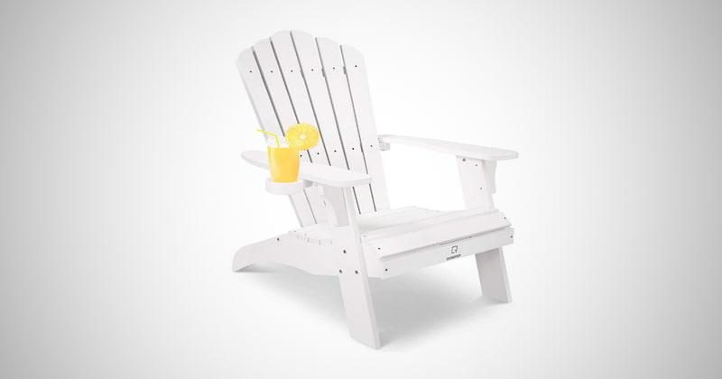 Oversized Poly Lumber Adirondack Chair