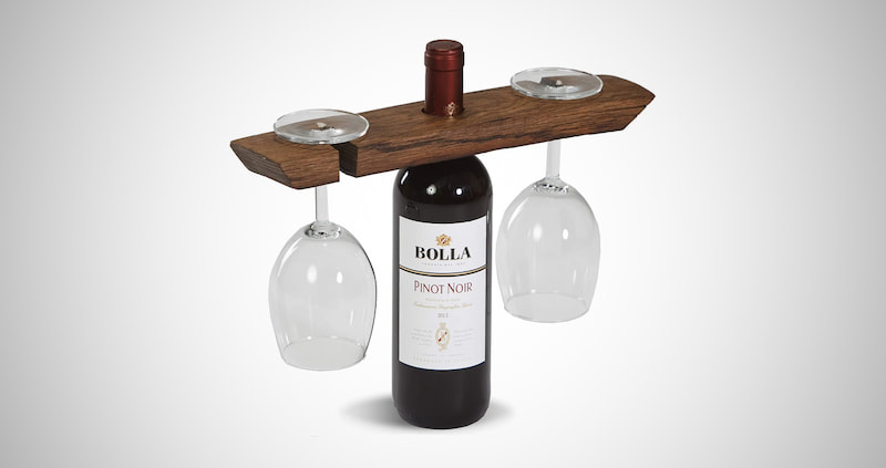 Barrel Stave Wine Butler
