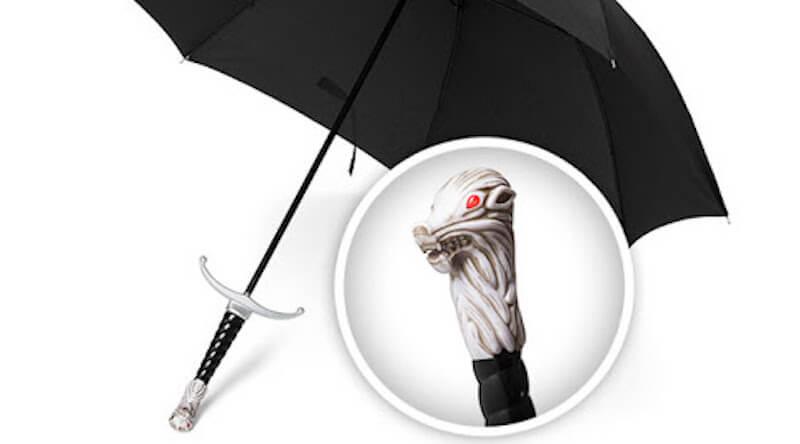 House Stark Molded Sword Umbrella