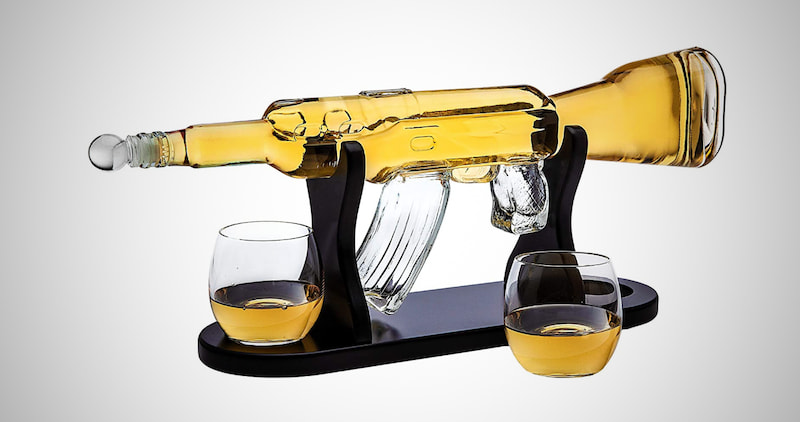 Gun Whiskey Decanter