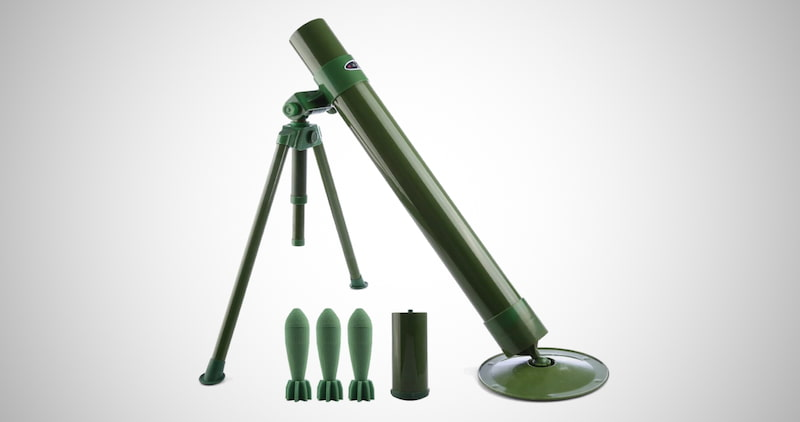 60mm Caliber Foam Soft Bullet Launcher
