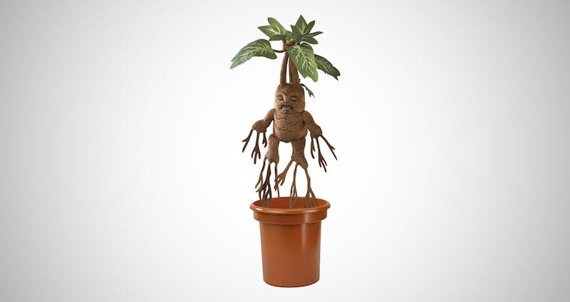 Electronic Plush Mandrake