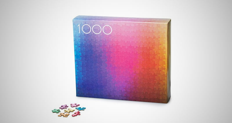 1000 Colors Jigsaw Puzzle