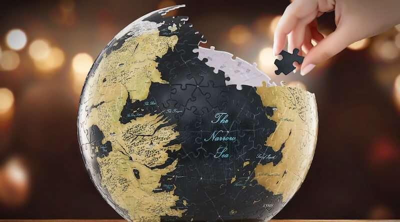 3D Westeros and Essos Globe Puzzle