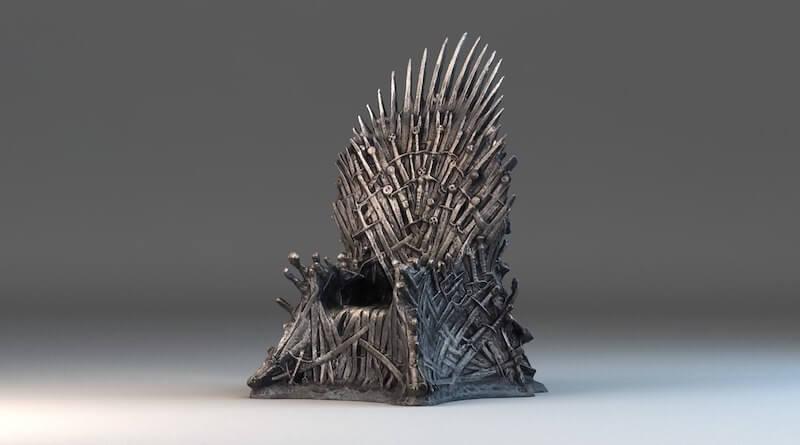 Iron Throne Mini Replica