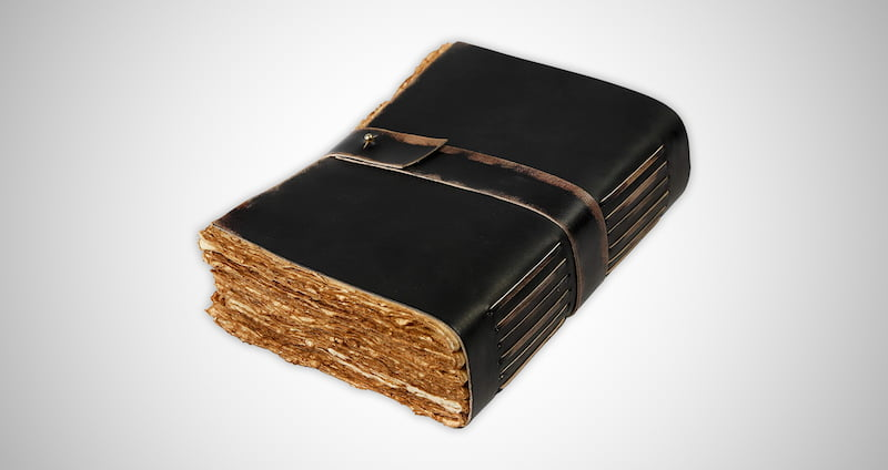 Vintage Leather Journal Writing Notebook