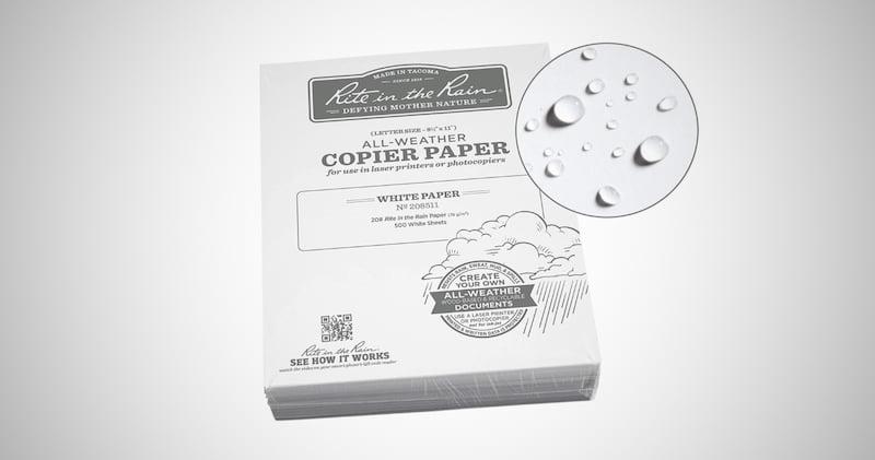 Weatherproof Bulk Copier Paper