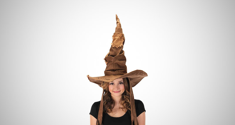 Sorting Hat Costume Puppet