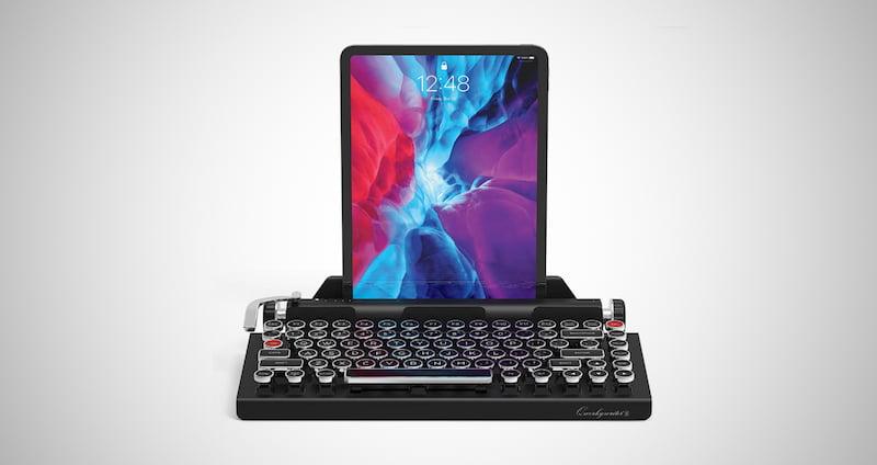Typewriter Inspired Retro Mechanical Keyboard