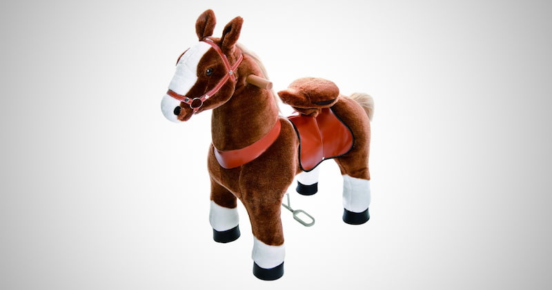 Pony Rider White Horse Toys