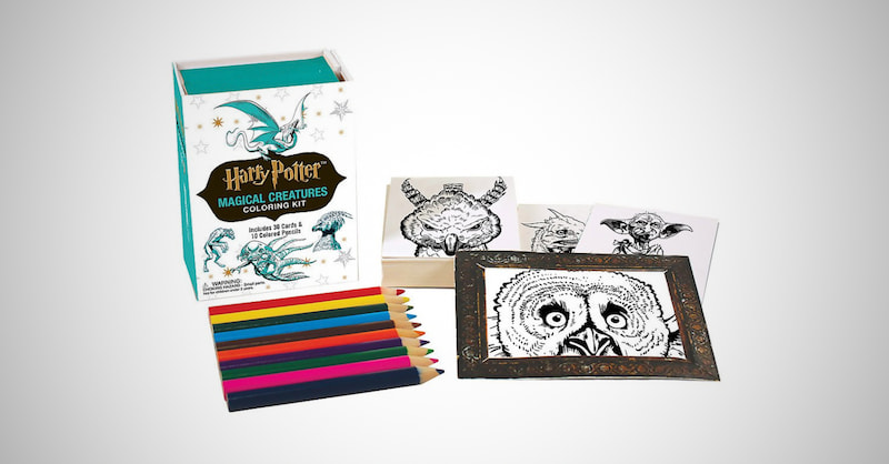 Magical Creatures Coloring Kit