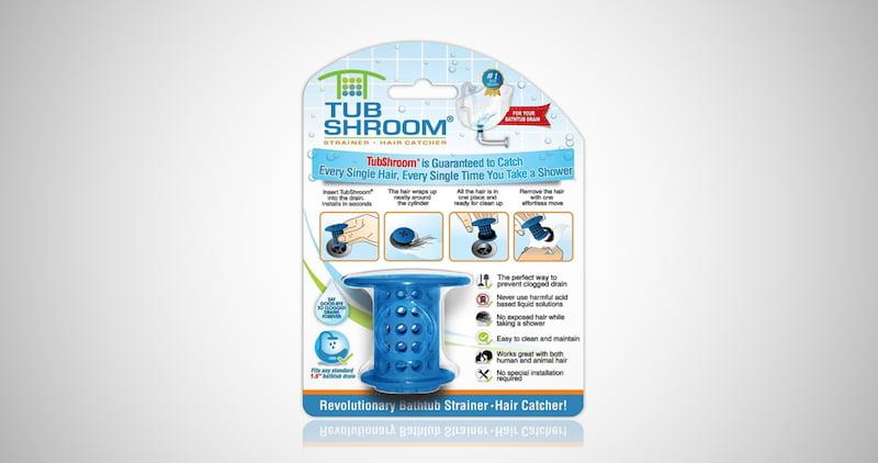 TubShroom Shower Drain Hair Catcher
