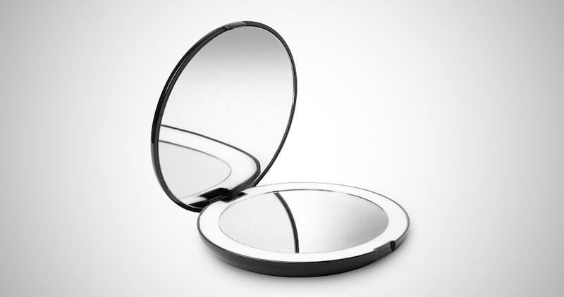 Lighted Makeup Pocket Mirror