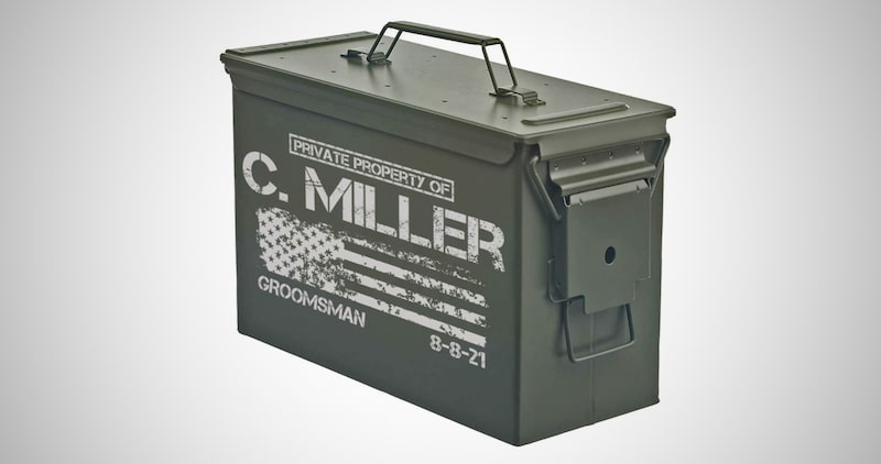 Personalized Engraved Ammo Can