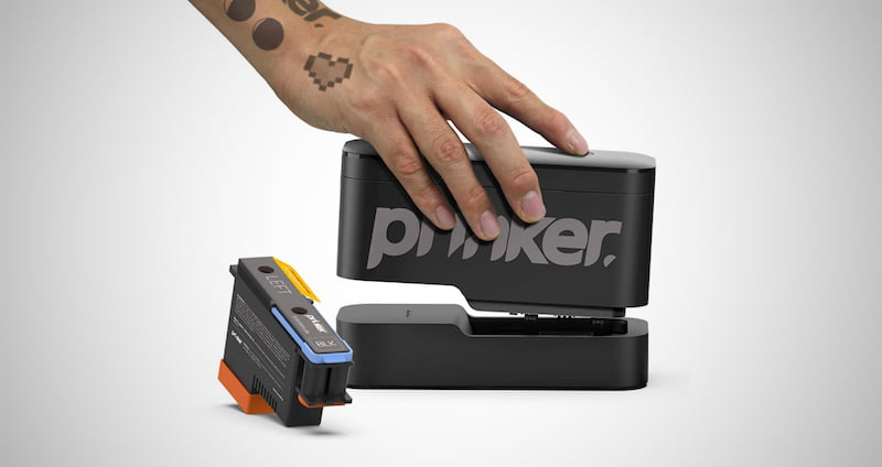 Prinker Temporary Tattoo Device