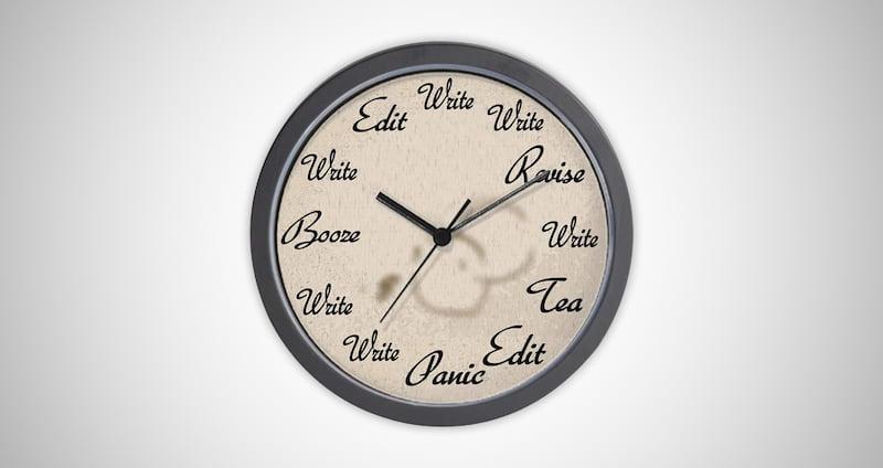 Unique Writer's Clock