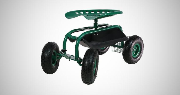 Garden Cart Rolling Scooter