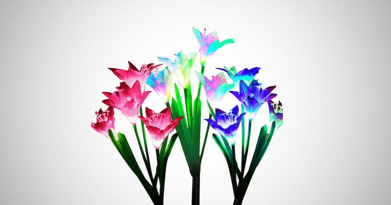 Lily Flower Solar Garden Lights