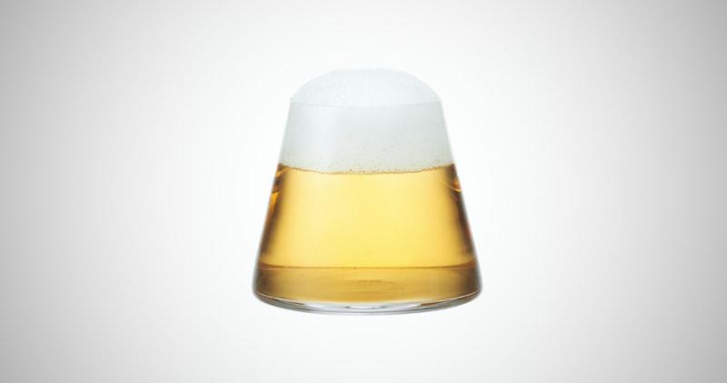 Mount Fuji Beer Glass