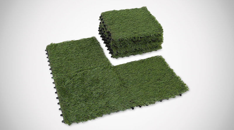 Artificial Grass Interlocking Mats