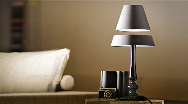 Fascinations Levitron Lamp Black