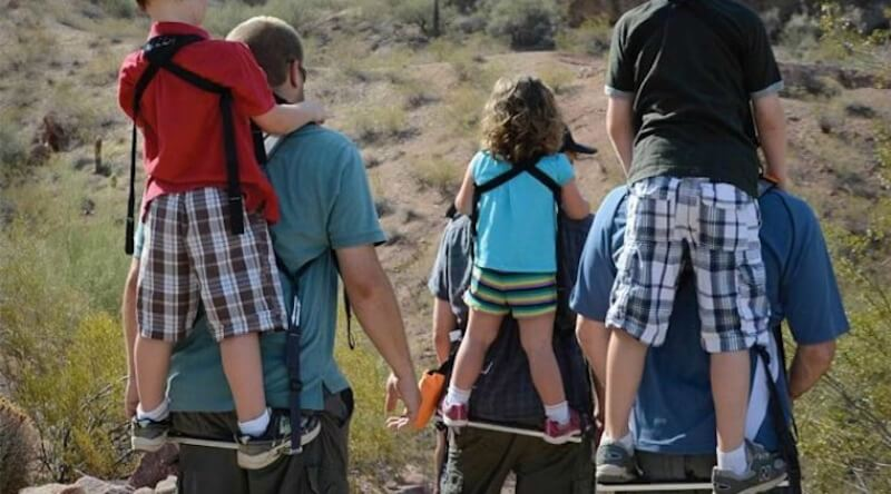 Standing Child Carrier Backpack