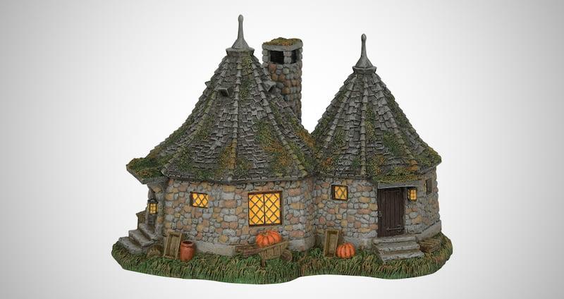 Village Hagrid's Hut Lit Building