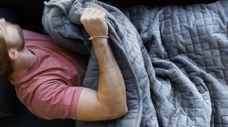 The Weighted Blanket Protects You From Stress and Anxiety