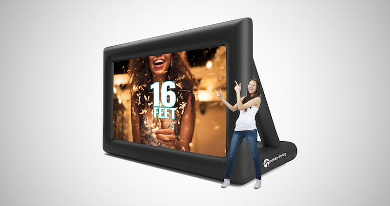 Holiday Styling Projector Screen