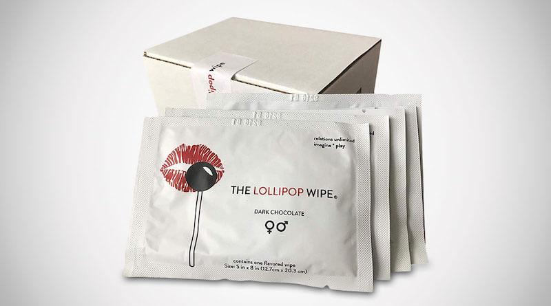 The Lollipop Wipe