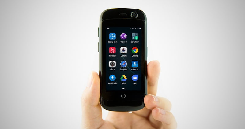The World's Smallest 4G Smartphone