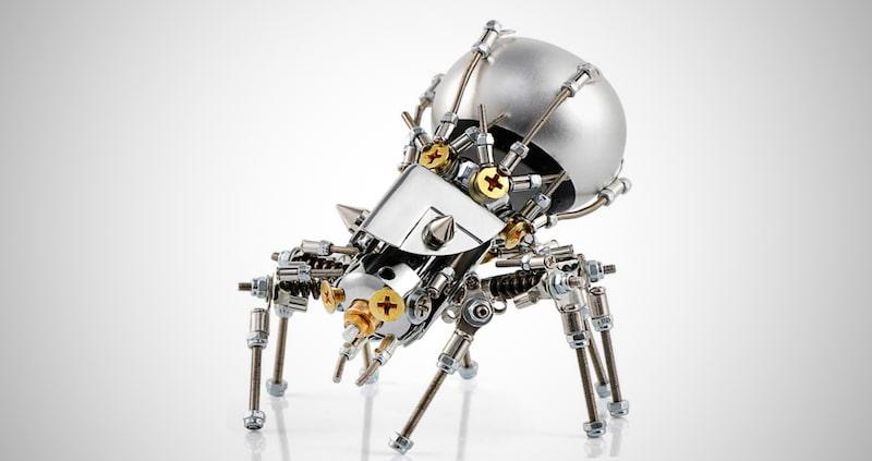 Metal Spider Model Kit