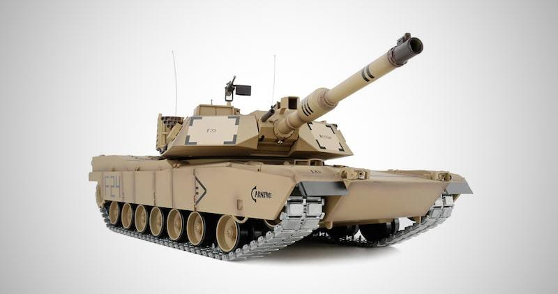 M1A2 Abrams Tank Model