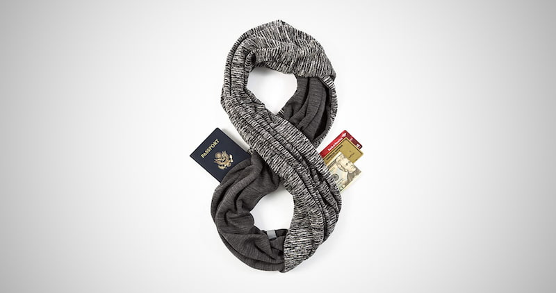 Infinity Scarf with Hidden Pockets