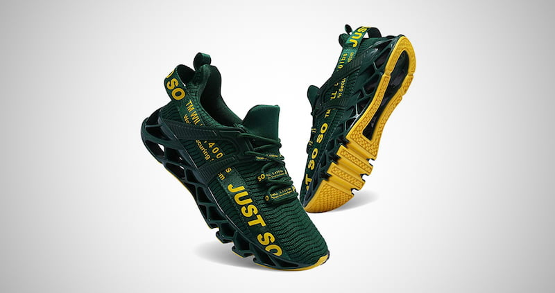UMYOGO Mens Athletic Running Shoes